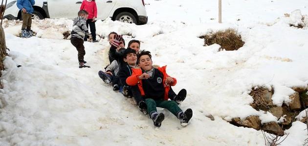 Birçok ilde eğitime kar tatili