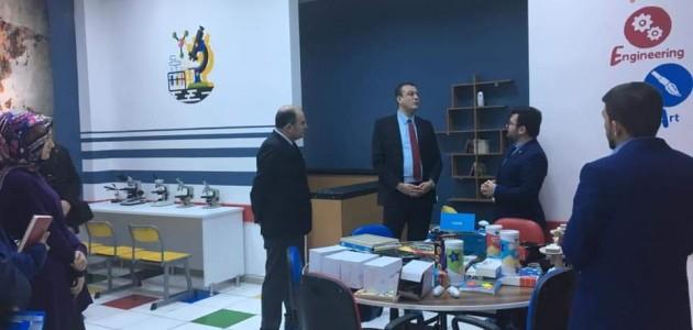 Yunak'ta öğrencilere 'farklı' öğrenme teknikleri