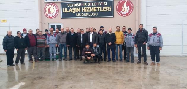 Başkan Tutal'dan personeline %34 zam müjdesi