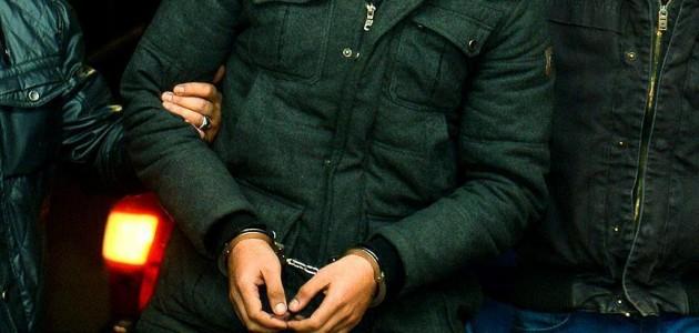 Konya dahil 10 ildeki operasyona 8 tutuklama