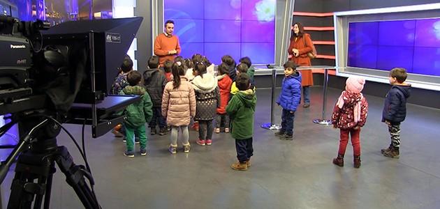 Hoşgörü Anaokulu öğrencileri KONTV'yi ziyaret etti