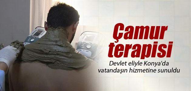 'Çamur terapisi' devlet eliyle Konya'da vatandaşın hizmetine sunuldu
