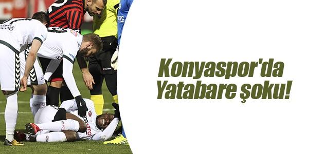 Konyaspor'da Yatabare şoku!