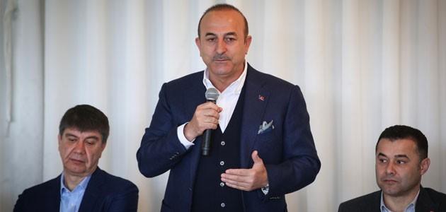 Çavuşoğlu: Bu ittifakı yöneten FETÖ'dür